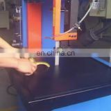 China supplier castings metal cutting machine plumbing fittings bandsaw vertical metal cutting band saw machine