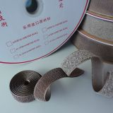 Magic Tape Roll Silver Fiber Hook And Loop Fastener Tape