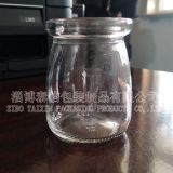 pudding glass bottle