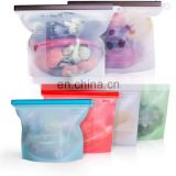 Reusable Silicone Food Storage Bags, Airtight Seal Food Preservation Bags, Food Grade Versatile Preservation Bag