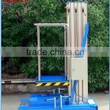 aerial work table single aluminum alloy mast material lift table used China