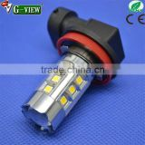 Newest Design led fog bulb h11 h8 9005 9006 10-30V LG 3030 Chip led auto bulb