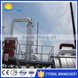 Biodiesel plant for recycling used energy oil waste tyre , used motor oil cleaning machine for diesel
