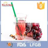2015 Low price Clear water glass / beer glass/wine glass with handle                                                                         Quality Choice