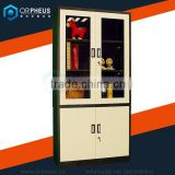Multiple Function Office Filing Cabinet Ergonomic Steel Srorage File Cabinets With Glass Door