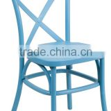 Inquiry about Outdoor Cross Back dining Chair with Steel Inner Leg