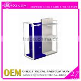 Heavy duty metal display/Floor standing metal display for stationery /New customized metal display stand