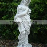 wholesale nude female decorative large garden statues