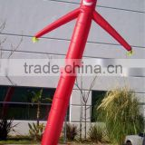 single leg inflatable air dancer / wind man / air tube