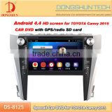 9'' screen 2din car dvd with android can-bus for Toyota Camry 2015