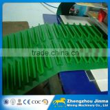 rubber PVC EP PU Food industry corrugated sidewall adjustable conveyor belt manufacturer