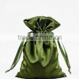 nylon net mash bag and satin gift bag