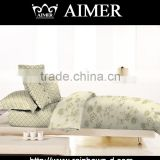trade assurance 100% cotton 200 TC percal plain pigment printed fabric for clasiic design for duvet cover sets bed sheet
