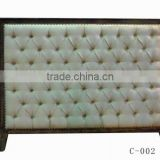 Popular French style upholstered fabric bed headboards