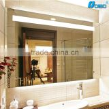 Aluminum frame wall mounted led backlit mirror