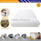 Crib Size Waterproof Quilted Fitted Mattress Cover/Mattress Pad