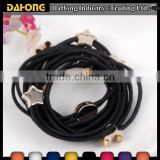 OEM custom competitive decorative elastic hair ties                                                                         Quality Choice