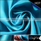 Polyester Twisted Satin Fabric for Ladies' Garment