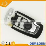 433Mhz and ID46 chip frequency 3 button folding flip car remote control key for bmw 90