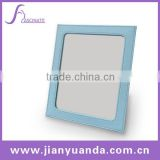 pu leather cosmetic compact mirror / table top cosmetic mirror / compact mirror / pocket mirror