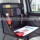 Factory good quality back seat tray car organizer