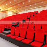 Auditorium cheap Portable Mobile telescopic Grandstand chair with backrest