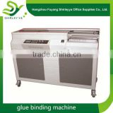 Factory direct price cheap hot melt glue binding machine