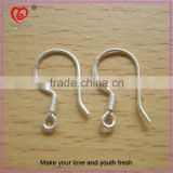 2015 hot sale brass jewelry earring hook lady earring finddings factory price earring hook