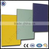 2mm-8mm A1 B1Fireproof Aluminium Composite panel for cladding /decoration material