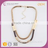 N72205Q01 Gold Plated Kids Link Chain Necklace Designs Girls Stanless Steel Jewelry Suppliers