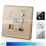 Smart home switch socket with wireless router and charger port