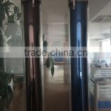 evacuated tube solar collector for heating system