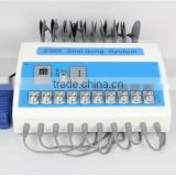 Professional tens ems electronic muscle stimulator product