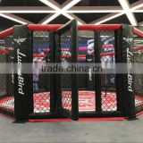 6m x 6m Floor Mounted octagon mma cage