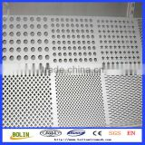 Hot Sale Stainless Steel / Inconel / Titanium Perforated Metal Sheet / Strainer Mesh (free sample)