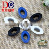 Wholesale Oval Plating Colored Custom Brass Metal Eyelets