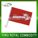 Adverting Design Polyester Window Hanging Custom Car Flag