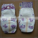 clothlike film baby diaper with magic tape for Uzbekistan/Turkmenistan/Afghanistan/Iraq/Iran