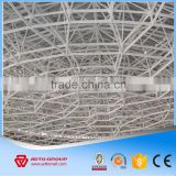 NEW Light Bolted Joint Steel Space Frame Grid Structure Large Span Prefabricated Warehouse Workshop Table Tennis Training Hall