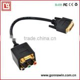DVI TO VGA ADAPTER/DVI to VGA and Audio Video Adapter/DVI TO VGA CONVERTER/DVI TO RCA Adapter