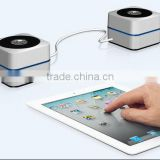 NEW DESIGN Aluminum wireless protable bluetooth MINI speaker for mobile iphone and table pc ipad