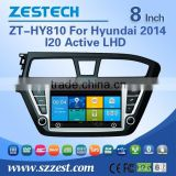 Car DVD/GPS manufacturer in China player Video 3G 2014 car dvd for Hyundai i20 car dvd with gps