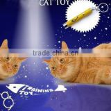Laser Pointer Pen With White LED Light Show Funny Pet stick Childrens Cat Toy