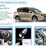 For Toyota-RAV4 GSM Remote Start Car Alarm Security System RFID Keyless Entry Push Button Engine