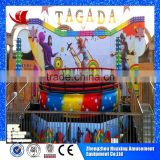 Direct manufacture with 10 years experience in small mini amusement rides mini disco tagada