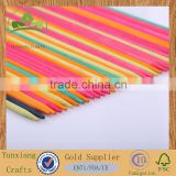 colored wooden craft sticks pick up sticks game