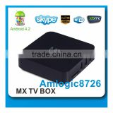 dual core mx android smart tv box 1080p hdmi arabic iptv box hd media player xbmc preinstalled