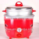 Kitchen ware household drum rice cooker with steaming basket food warmer