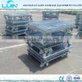 Metal wire mesh container/Heavy duty used storage cages for sale