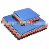 Red Blue, T/ five strips, 5 strips Competition Grade Taekwondo karate Mat flooring interlocking mats martial arts jigsaw mats